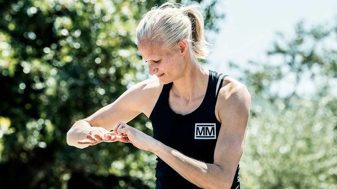 Carolina Klüft i Mästarnas mästare.