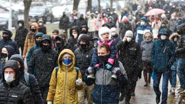 123 gripna vid demonstrationer mot Lukasjenko