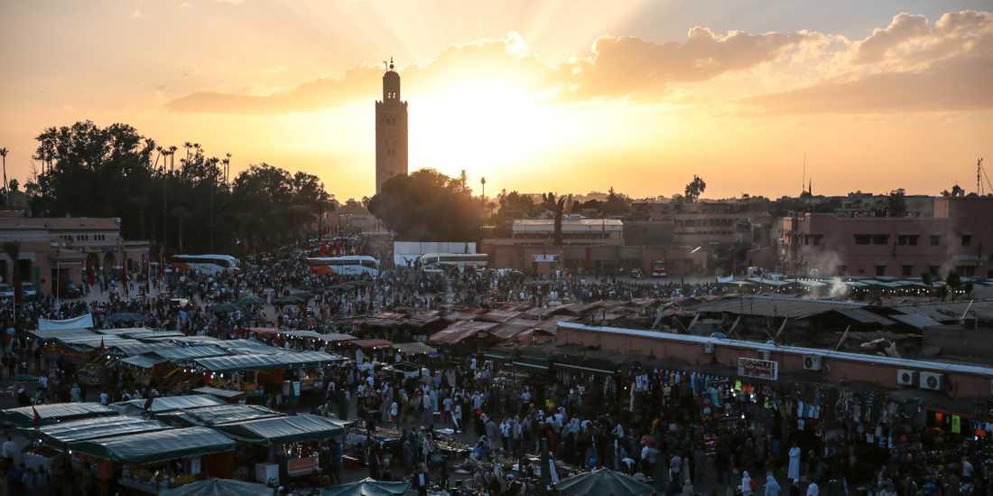 Marrakesh. Arkivbild.