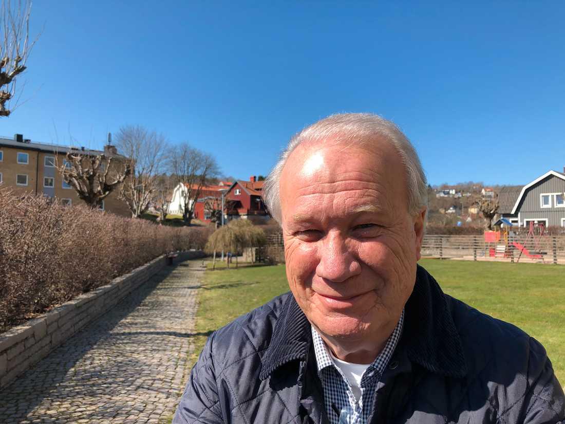 """""""Det känns mycket bra. Det har varit jobbigt, tungt. Men nu känns det lätt"""", säger Stig Åström från Öckerö efter beskedet."""