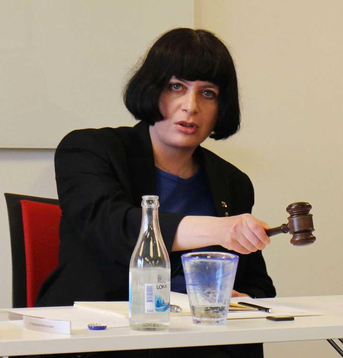 Mensas ordförande Monika Orski.