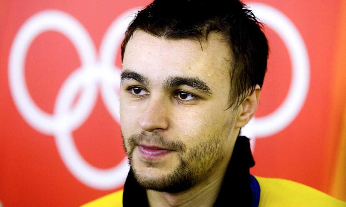 Stefan Liv efter en OS-match i Turin 2006.