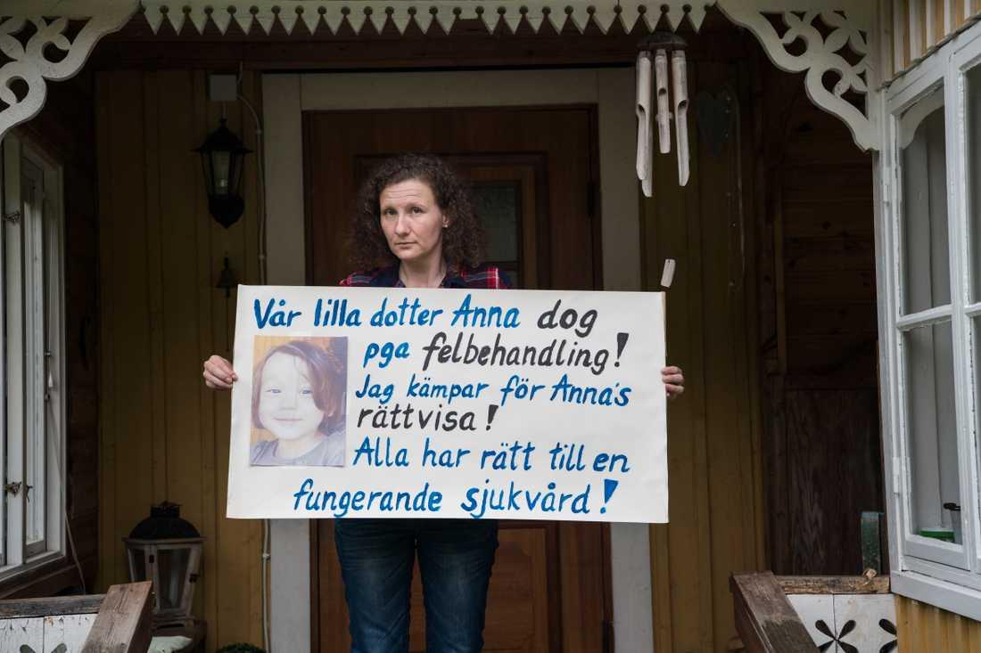 Polina Allemanns budskap till politikerna.