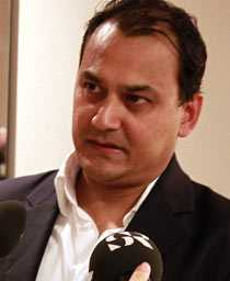 Hans Pandeya, vd för Global Gaming Factory X.