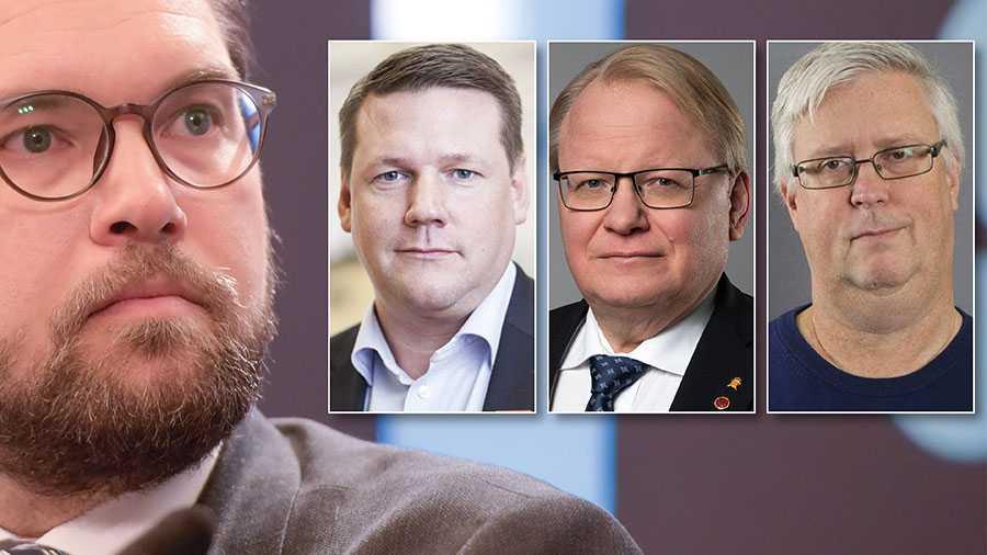 """När SD talar om att de är ett arbetarparti så är det """"fake news"""" i storformat. Därför måste denna falska propaganda avslöjas.  SD är ett djupt antifackligt och löntagarfientligt parti, skriver Peter Hultqvist, Tobias Baudin och Tommy Wreeth."""