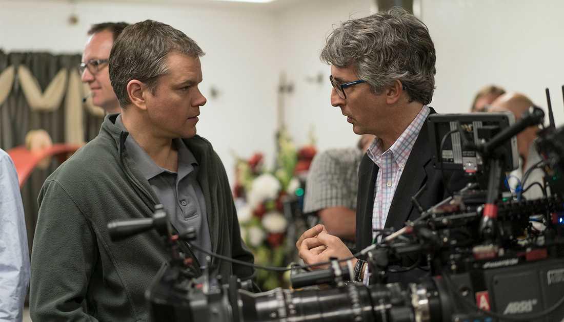 """Matt Damon spelar i filmen """"Downsizing""""."""
