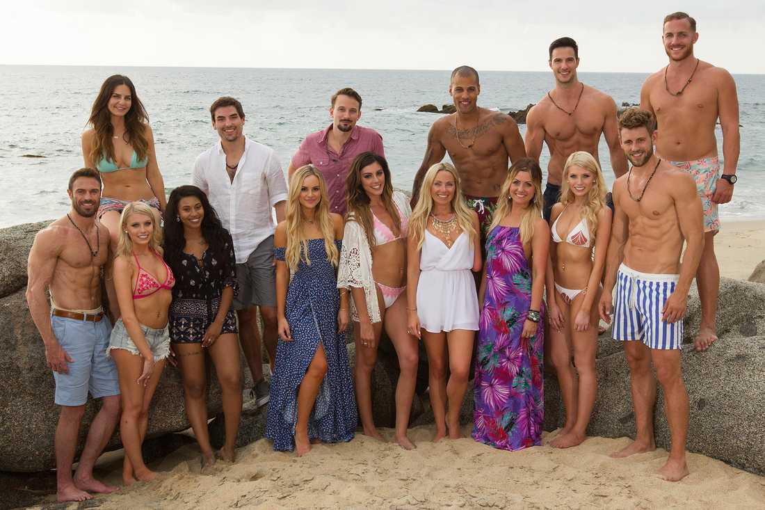 """Förra säsongen av """"Bachelor in paradise""""."""