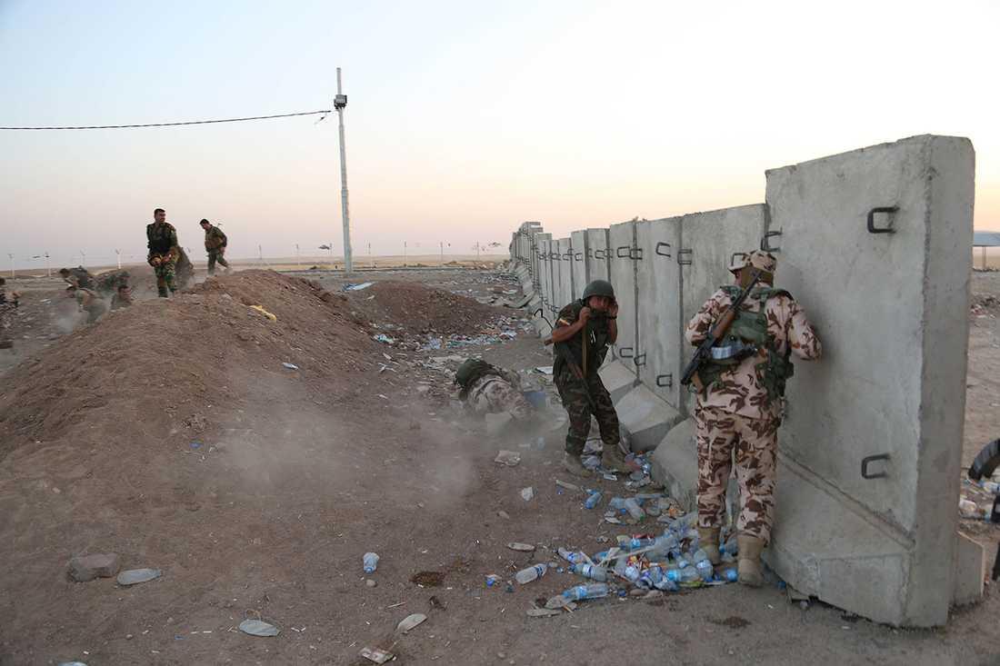 Kurdiska styrkor.