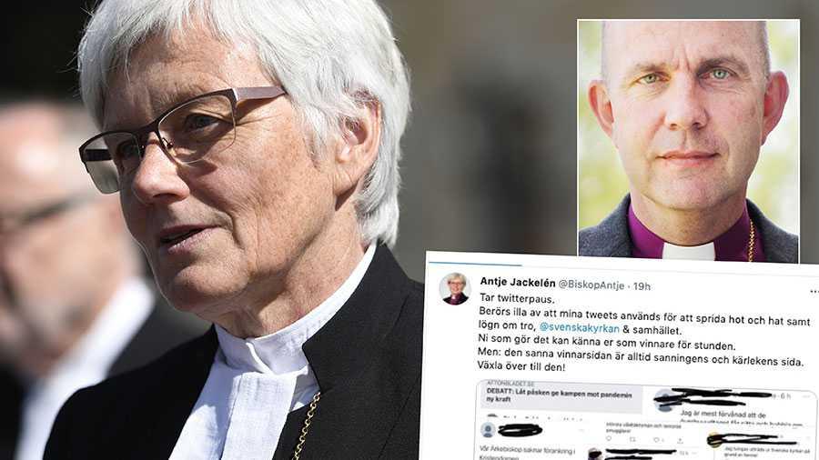 På ärkebiskopens twitterkonto skrivs kommentarer som är så vidrigt kränkande att få av oss hade orkat stå raka ens en kortare tid. Det är hög tid att den tysta mitten gör sig hörd, både i Svenska kyrkan och i samhällsdebatten, skriver Fredrik Modéus.