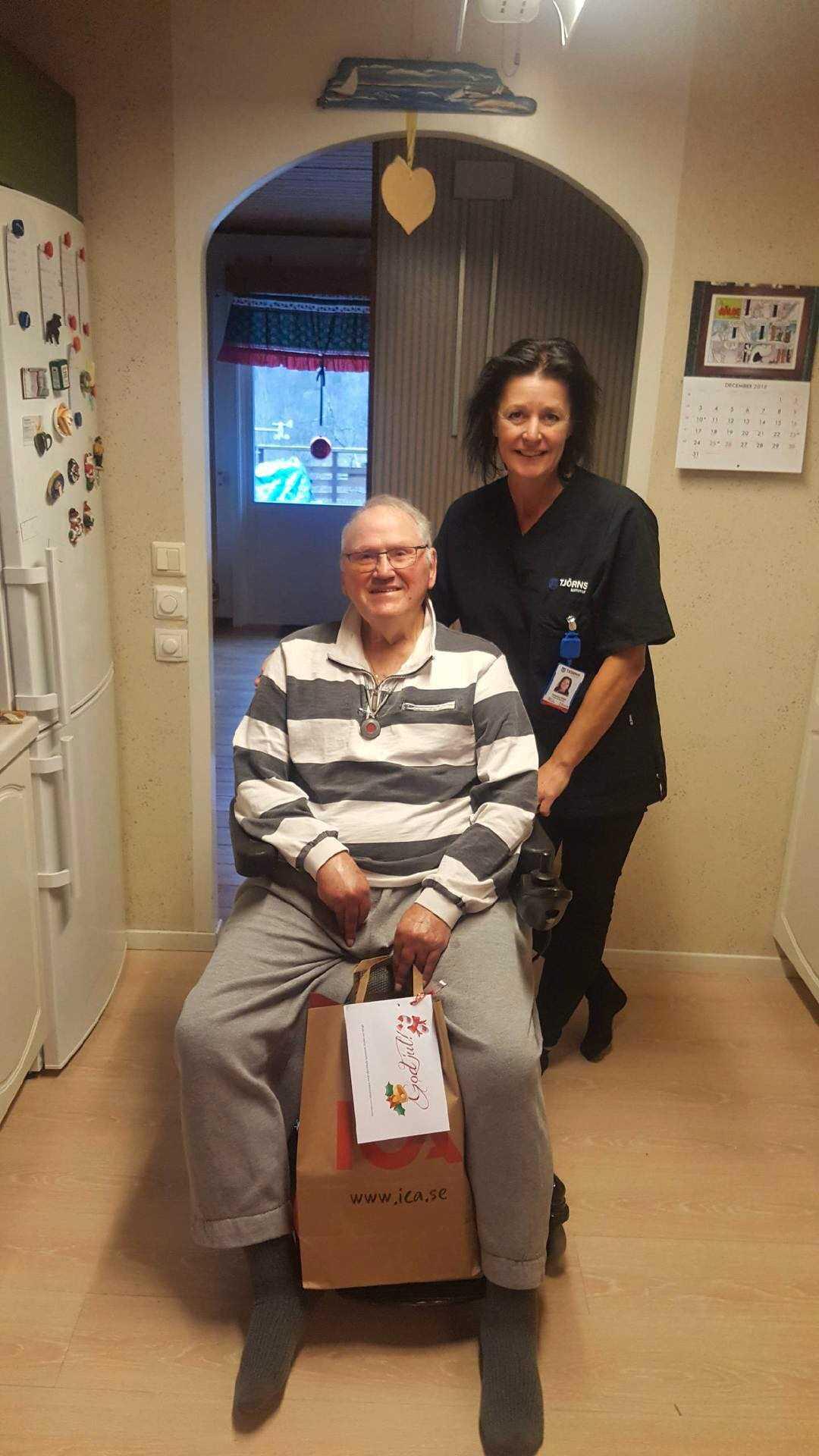 Kjell, 82, är en av de som redan fått sin.