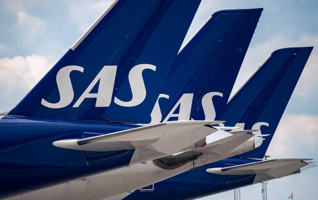 Utländska pilot har hyrts in för att täcka på flygningar som svenska pilot flög tidigare.