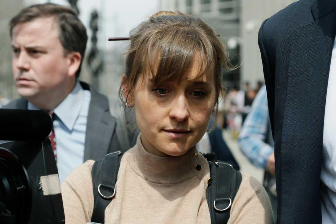 """""""Smallville""""-skådespelerskan Allison Mack har erkänt sig skyldig till bland annat sexhandel och tvångsarbete i samband med den kontroversiella självhjälpsgruppen Nxivm."""