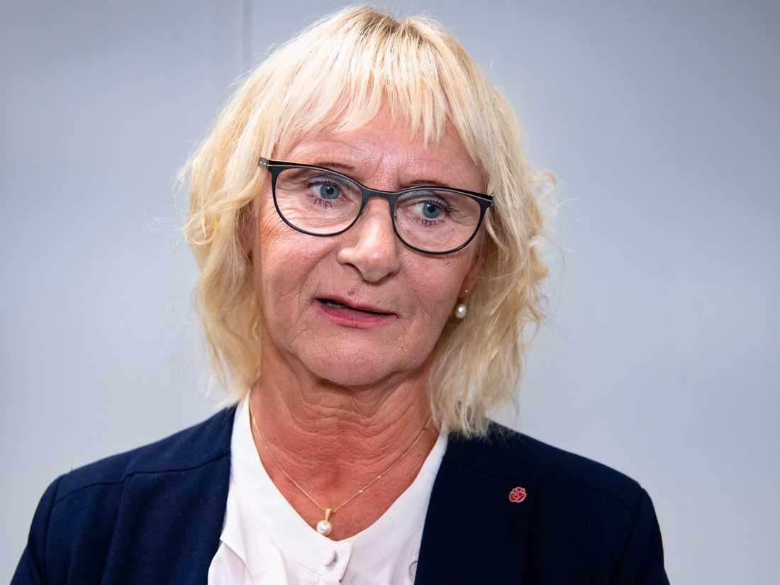 Civilminister Lena Micko (S).