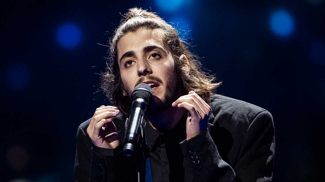 Salvador Sobral vann Eurovision song contest 2017 för Portugal.
