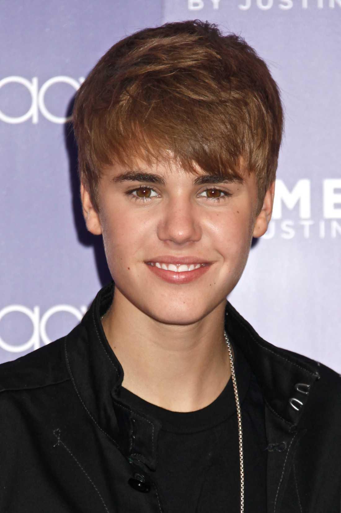 2. Justin Bieber 13,3 miljoner