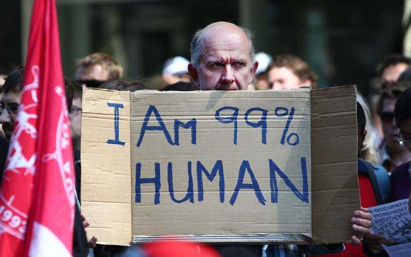 Från en demonstration i Australien.