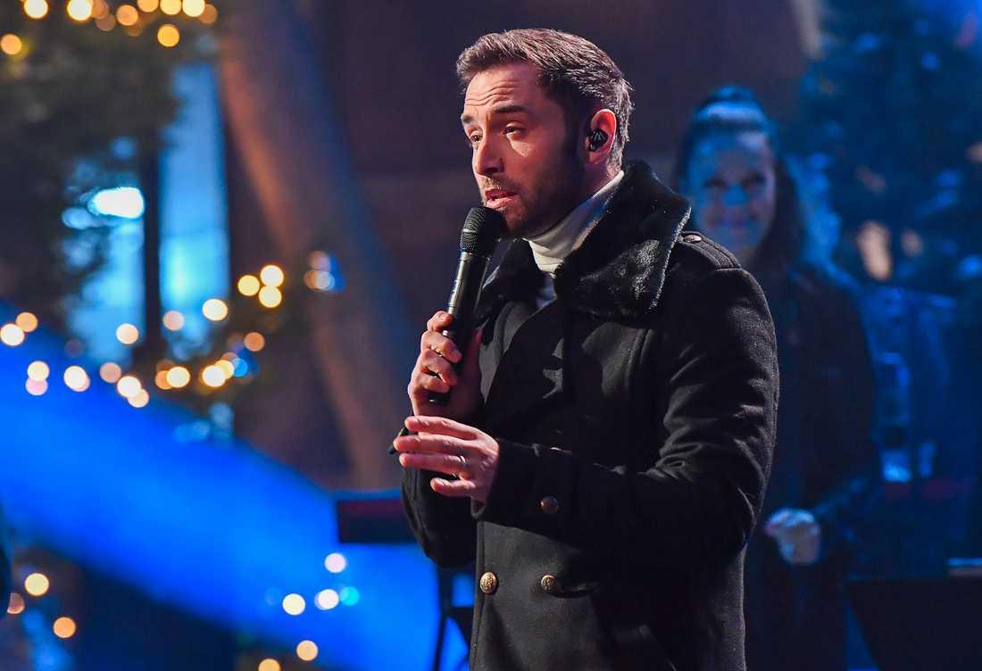 Måns Zelmerlöw kommer att sjunga en duett med Lill Lindfors i Andra chansen. Arkivbild.