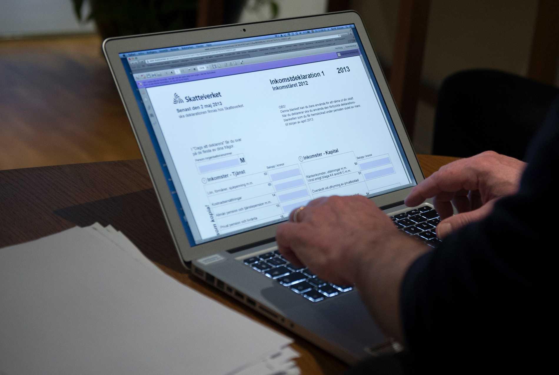 Snart börjar skatteverket skicka ut deklarationsblanketterna.