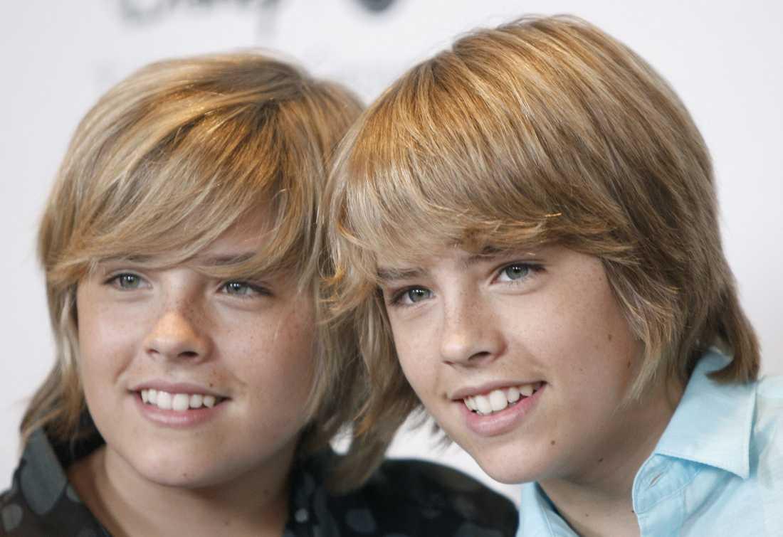 "Cirka 133000 kronor per avsnitt. Dylan och Cole Sprouse, 18, ""The Suite Life"", Disney Channel."