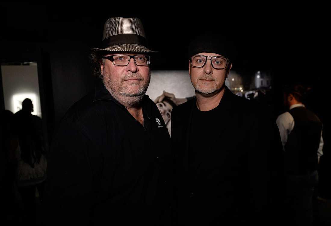 Fotografiskas grundare Jan och Per Broman var förstås där.