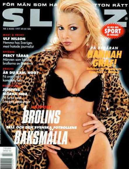 Från 1997 – med Hanna Graaf på omslaget.