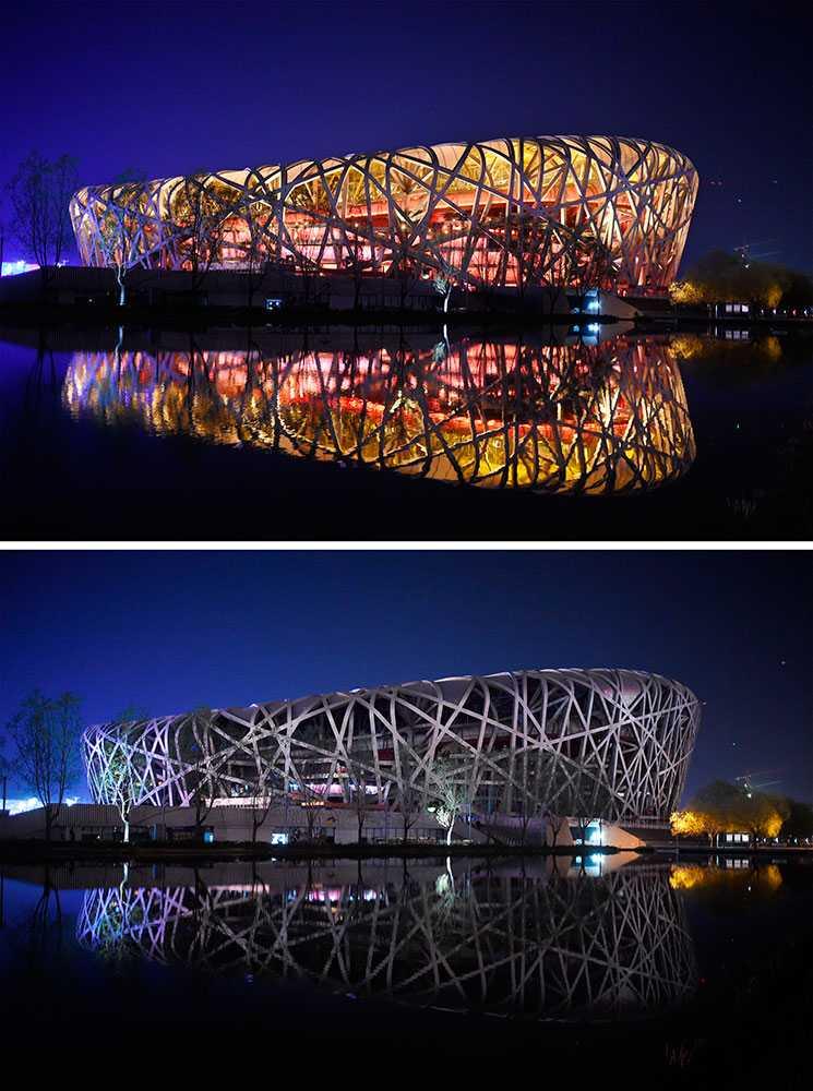 Arenan Fågelboet i Peking.