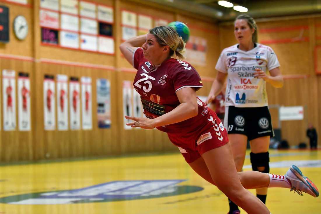 Efter segern i semifinalen tog det stopp i finalen för Michaela Fransson och H65 Höör.