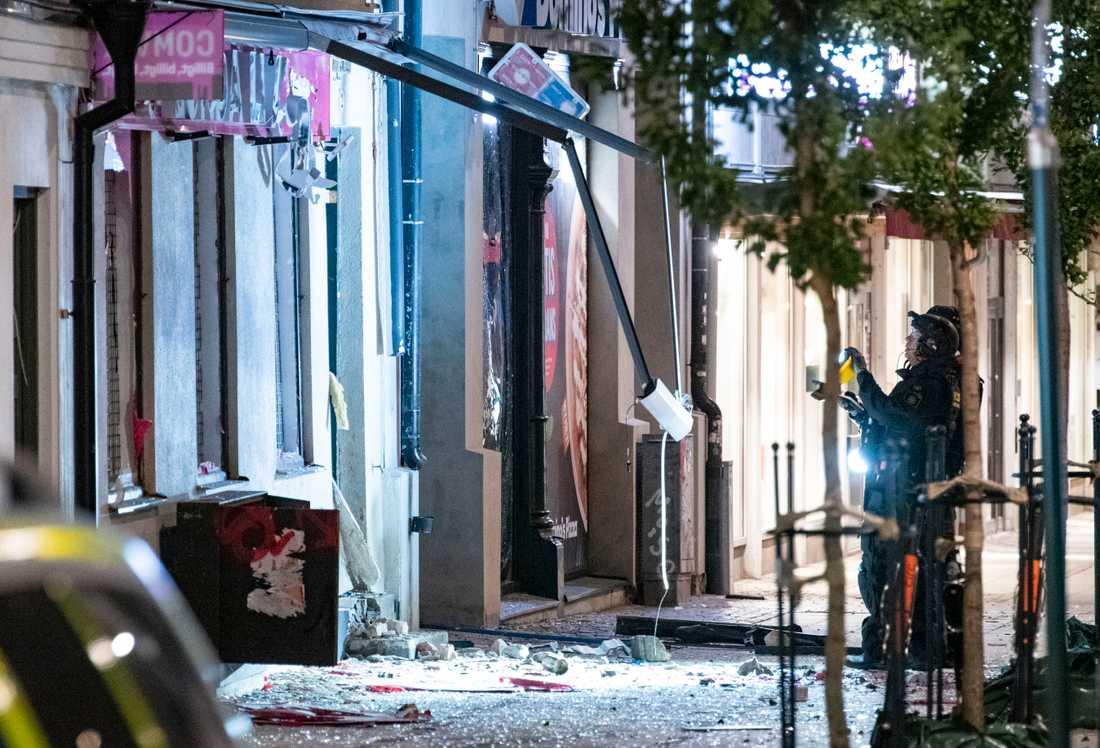 Polisen har fortfarande inget motiv till sprängdådet i centrala Lund.