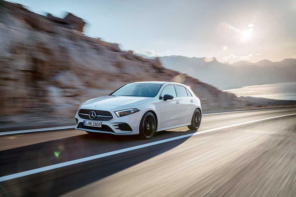 Nya Mercedes-Benz A-klass.