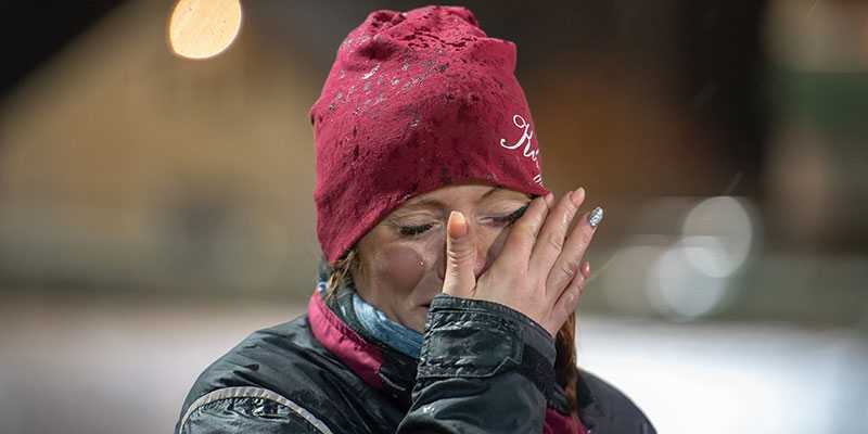 """Linda Sundbergs tårar efter Dante Bokos V75-seger i lördags: """"Blandade känslor"""""""