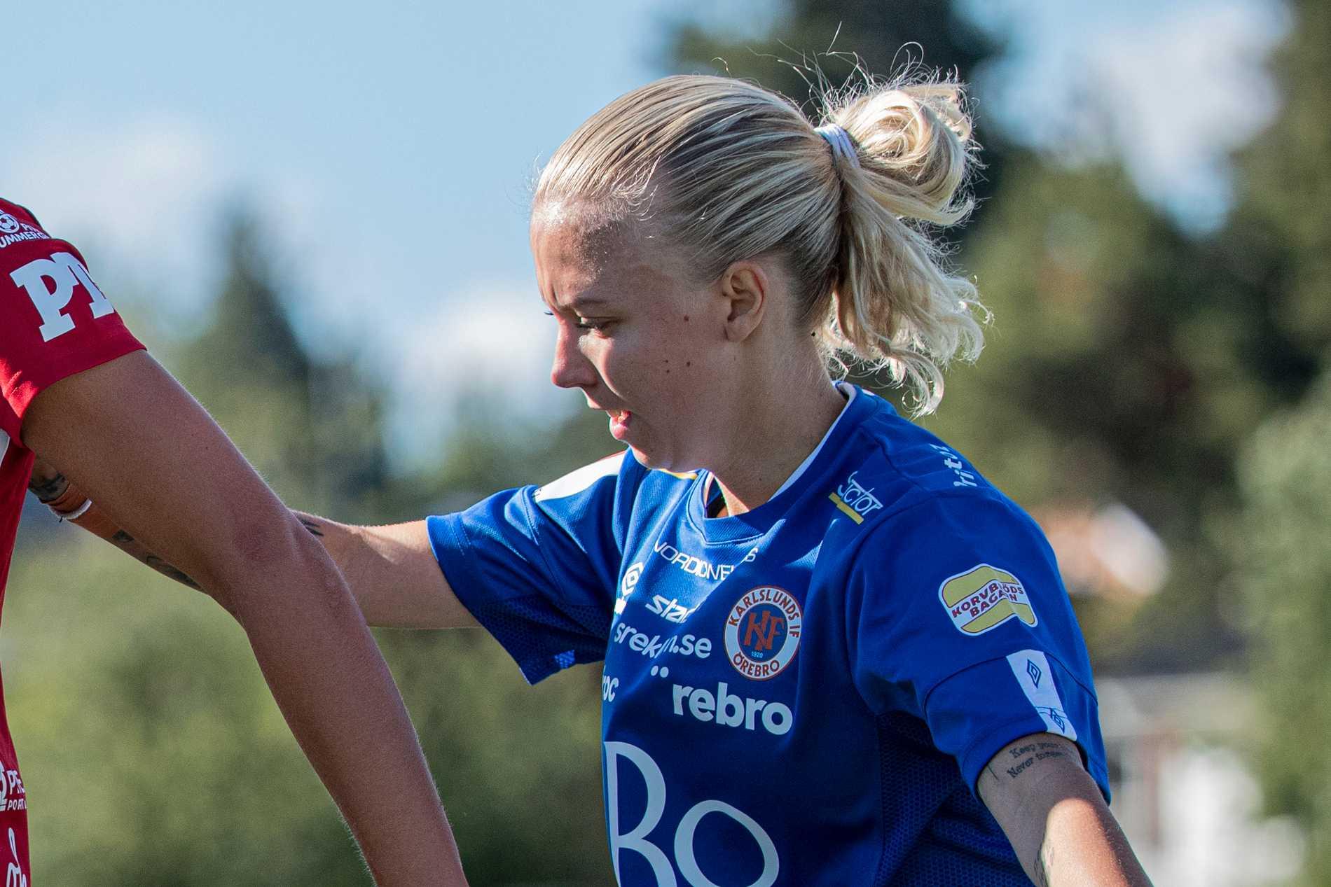KIF Örebros Nathalie Hoff Persson.
