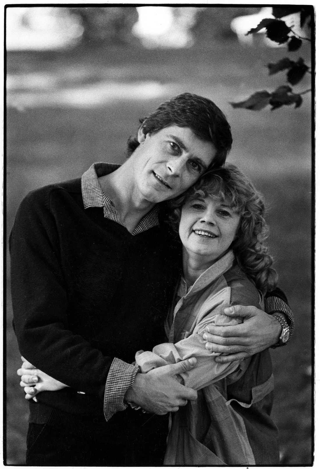 Pontén och Lena Nyman 1982.