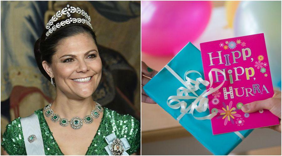när fyller kronprinsessan år Så ska kronprinsessan Victoria fira sin 40 årsdag – nu är  när fyller kronprinsessan år