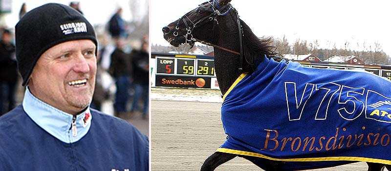 Kari Lähdekorpi och Orso. Lähdekorpi har saknat en riktig stjärna i stallet. Orso kan vara den han har letat efter.