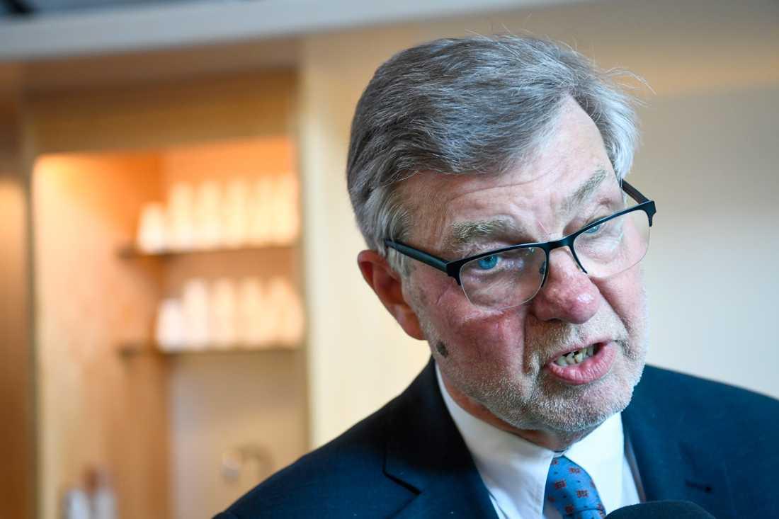 Försvarsberedningens ordförande Björn von Sydow (S).