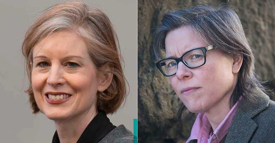 Linda Skugge och Lena Andersson.