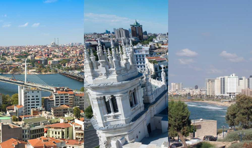 Är London och Paris ute?? Här är nio städer som trendar i år.