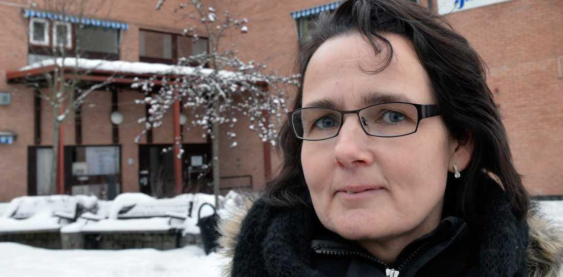 I MINORITET I Mullsjö kommunfullmäktige tampas Maria Danfors (MP) och åtta andra kvinnor med 26 män.