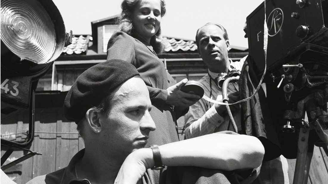 """Ur """"Bergman – ett år, ett liv""""."""