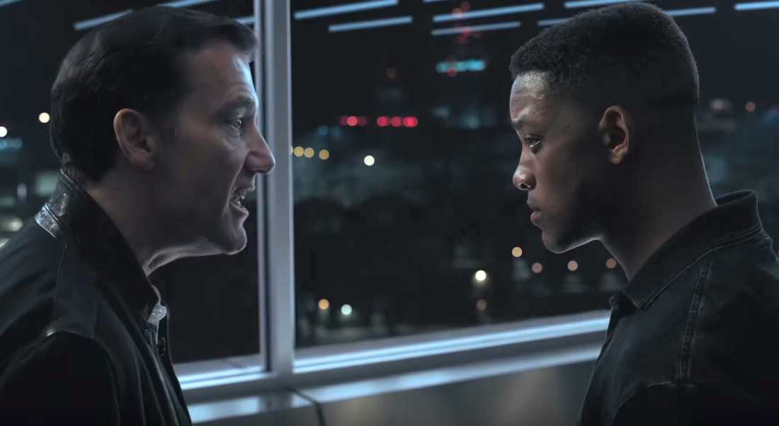 "Clive Owen och Will Smith i ""Gemini man""."