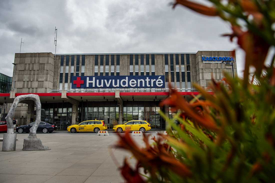 Huddinge sjukhus.