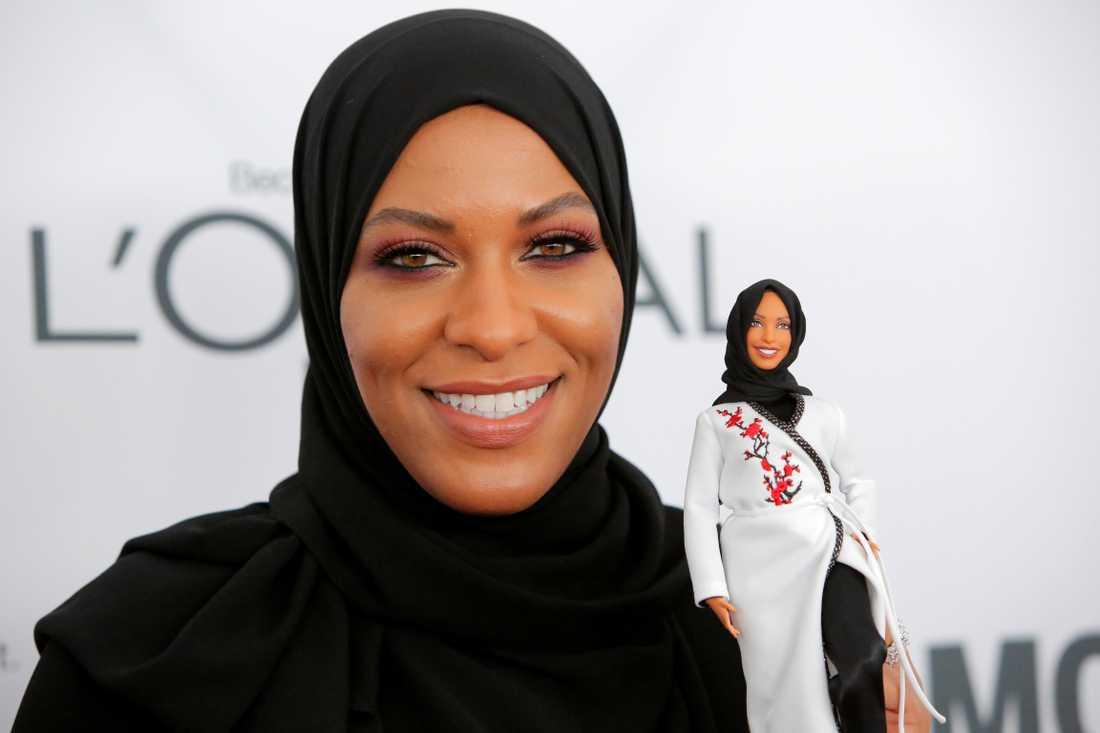 Ibtihaj Muhammad var första hijba-klädda kvinnan att delta i OS.