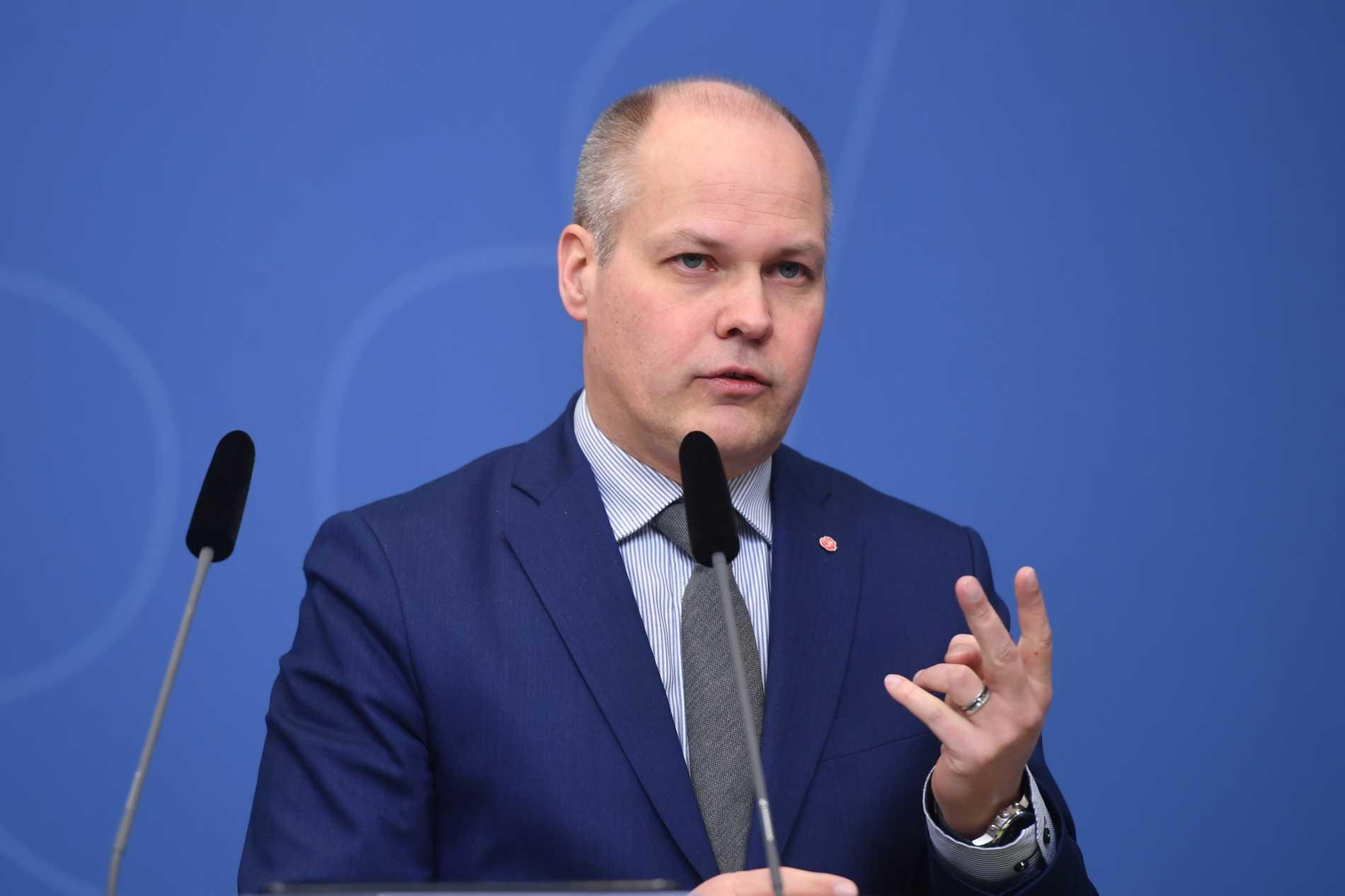 Justitieminister Morgan Johansson (S) tror att en ny samtyckeslag kommer att leda till fler fällande domar. Arkivbild.
