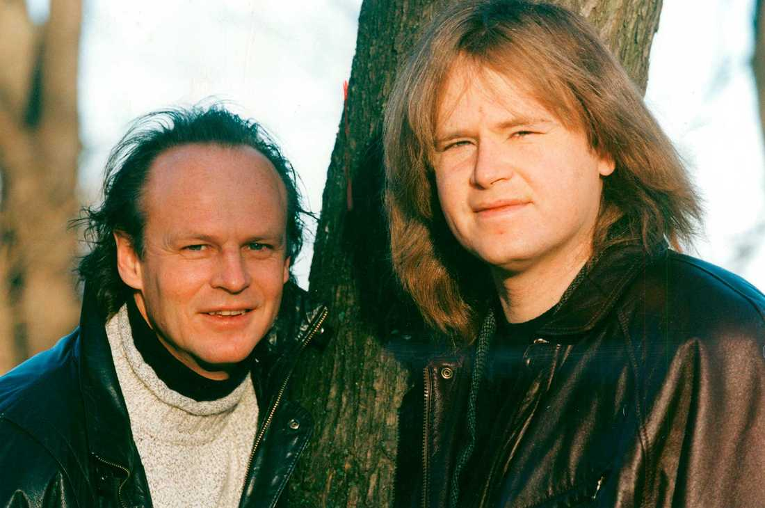 Kenneth och Ted Gärdestad 1994.
