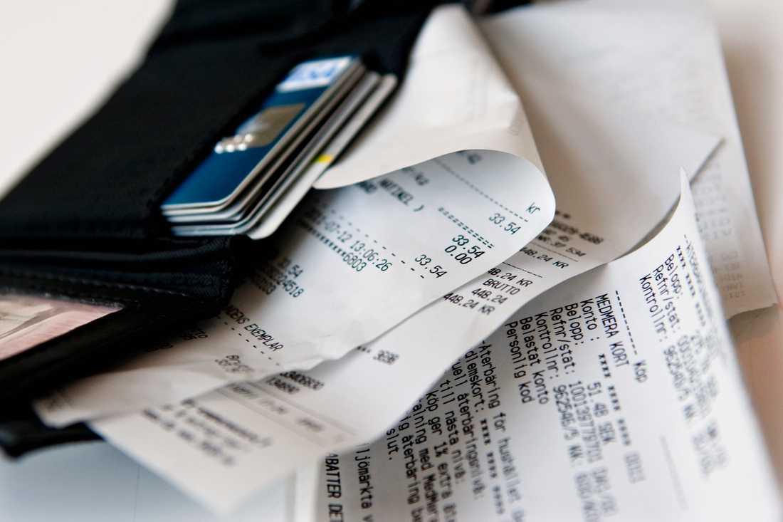 Kunder kommer att kunna välja att få ett digitalt kvitto.