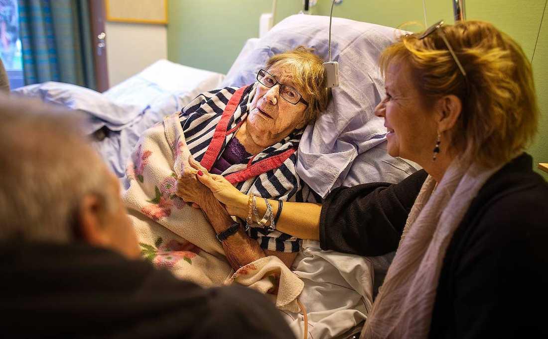 palliativ vård utan vätska