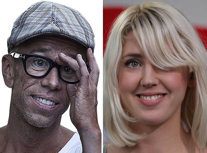 Lagom sex i låtarna? Eric Amarillo och Veronica Maggio.