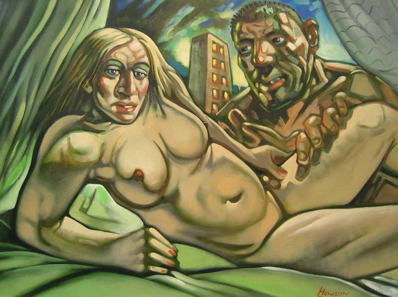 Tavlan som föreställer Madonna och hennes ex-make Guy Richie nakna har inte lyckats gå att sälja så bra som man hoppats på.