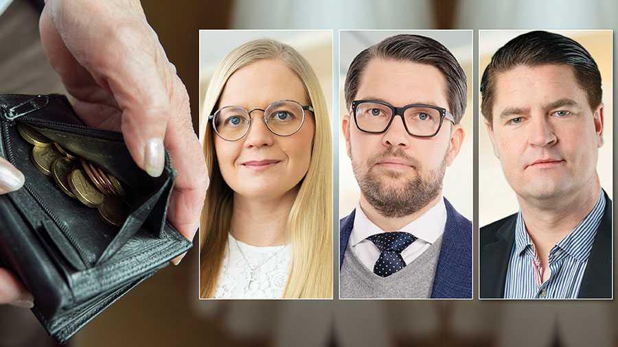 Dagens pensionssystem är ohållbart. Det behövs en omfattande reformering av hela systemet, och framförallt högre pensionsavsättningar, skriver Jimmie Åkesson, Julia Kronlid och Oscar Sjöstedt.