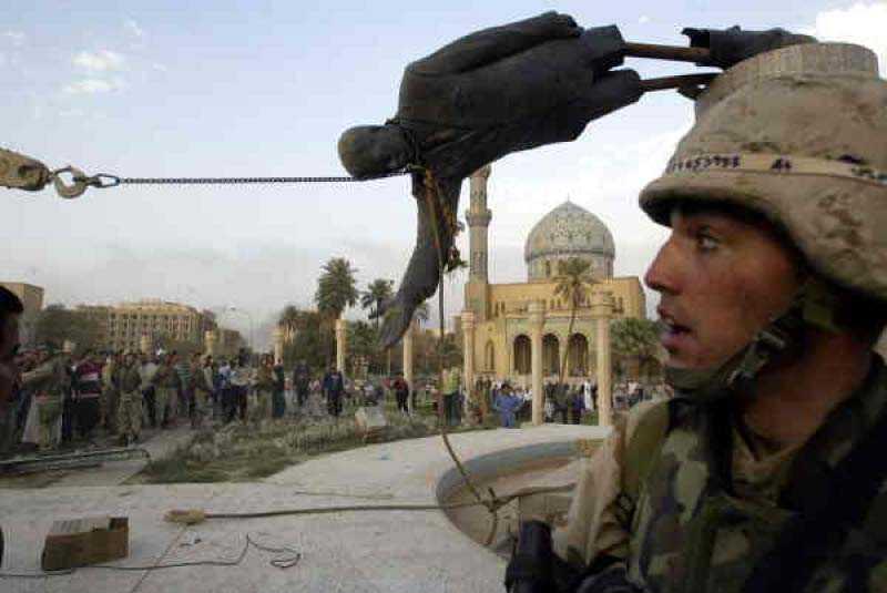 Sociologiprofessorn Gunnar Heinsohn ser invasionen av Irak som ett långsiktigt försvar för vår västerländska livsstil.